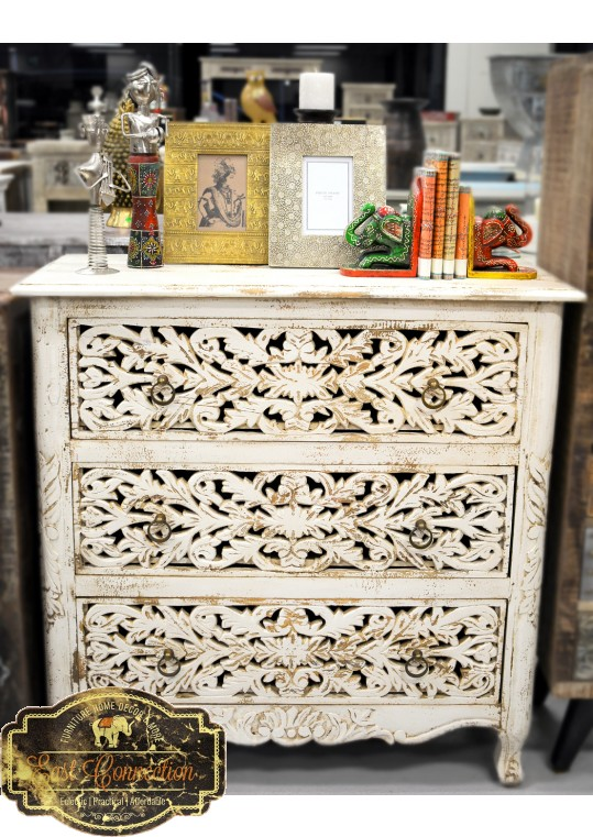 Hand Carved French Provincial Chest of Drawers