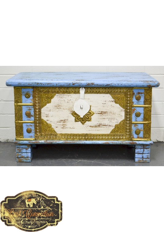 Antique Vintage Blanket Box