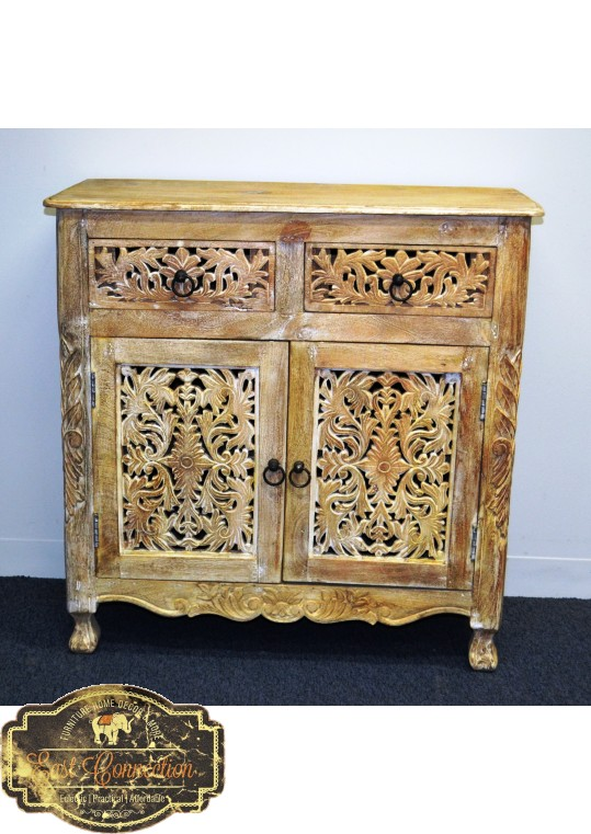 Hand Carved French Provincial Sideboard