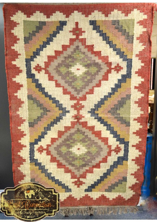 Hand Woven  Flat Tapestry
