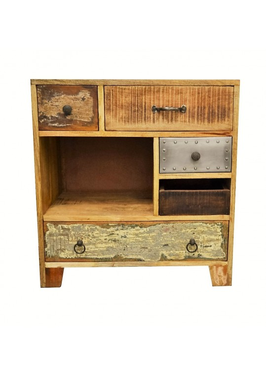 Rustic Multi-drawer Vintage Sideboard