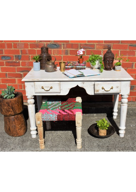White French Provincial Shabby Chic Desk