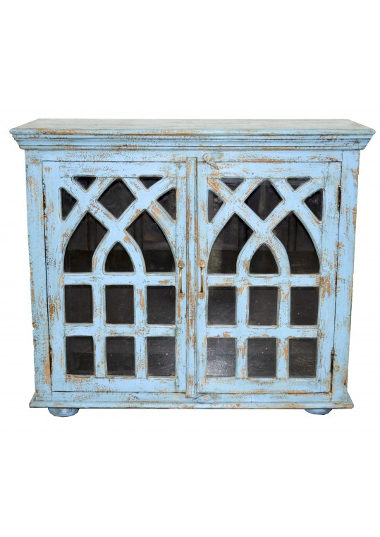 Recycled Timber Glass Provincial Sideboard