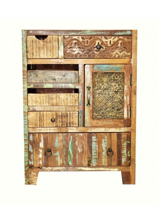 Recycled Timber Vintage Cabinet