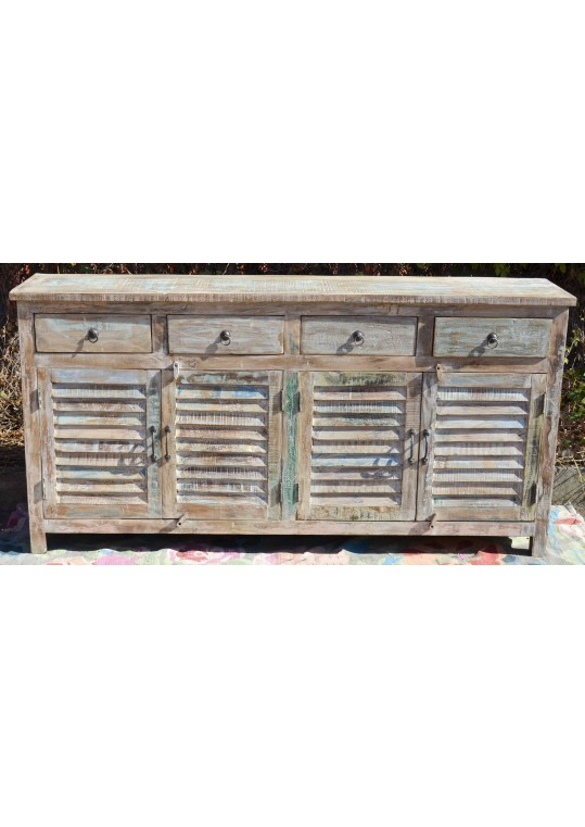 Shabby Chic Reclaimed Timber Shutter Sideboard