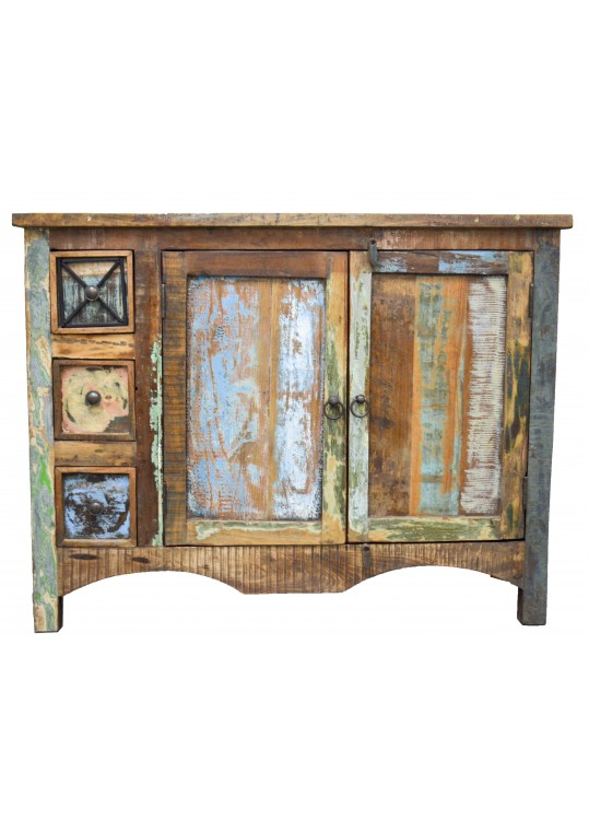 Recycled Timber Sideboard Vanity Cabinet