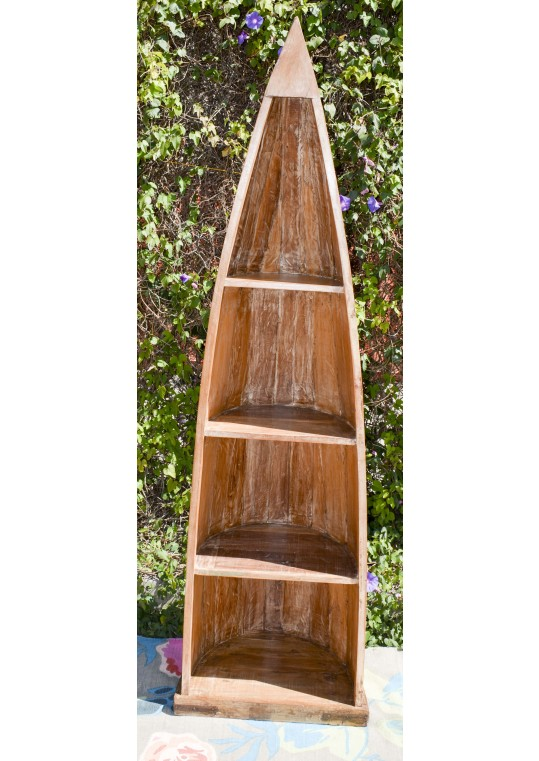 Recycled Timber Boat Bookcase