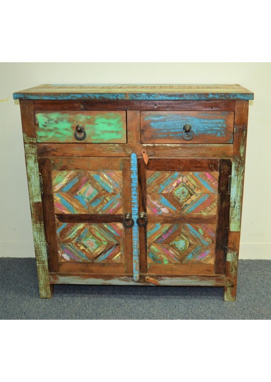 Recycled timber Panel 2 door 2 drawer Sideboard