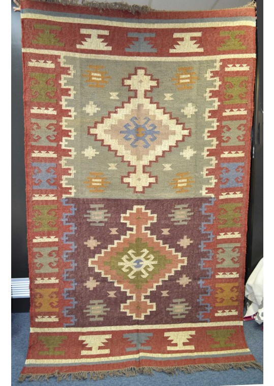 Hand Knotted Kilim Carpet