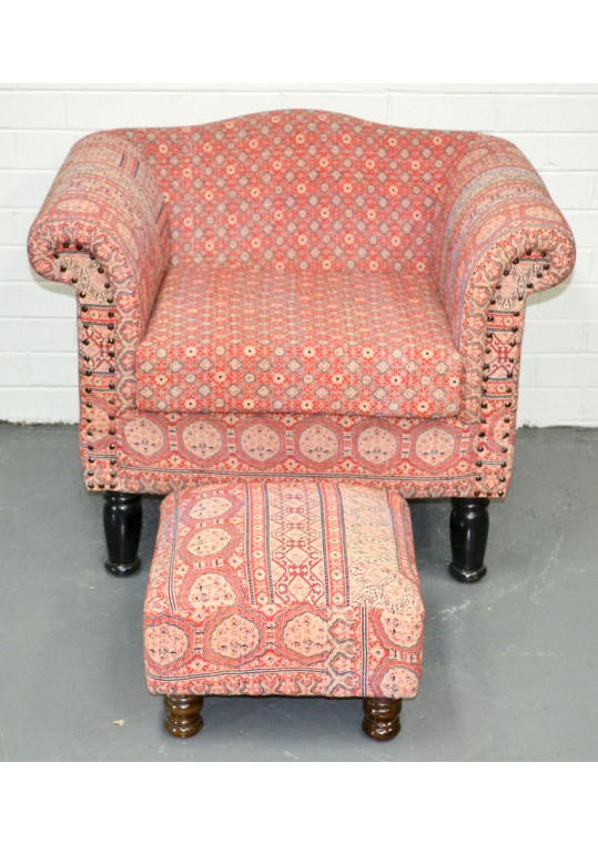 Hand Stitched Armchair/Sofa