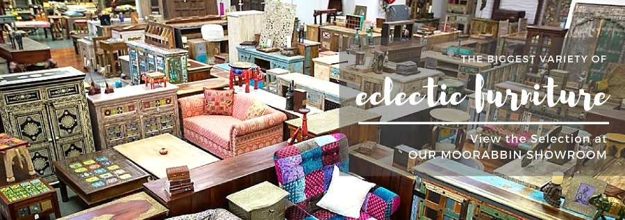 Biggest Variety of Eclectic Furniture