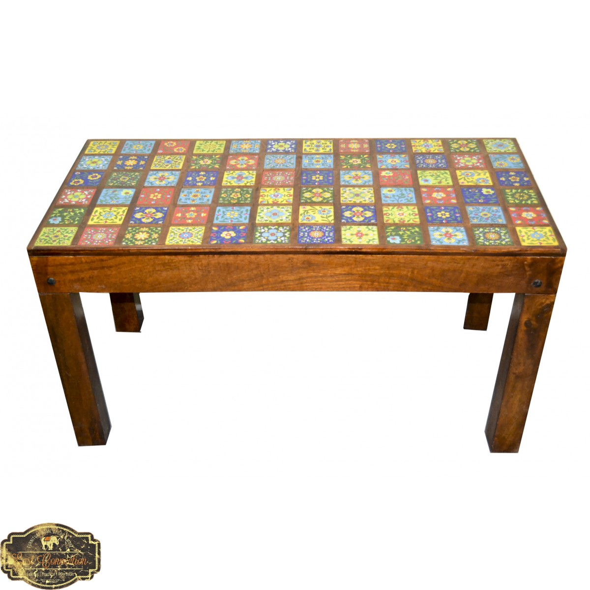 - Moroccan Tile Coffee Table