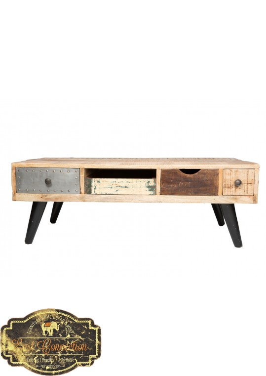 Retro style 4 Drawer Coffee table