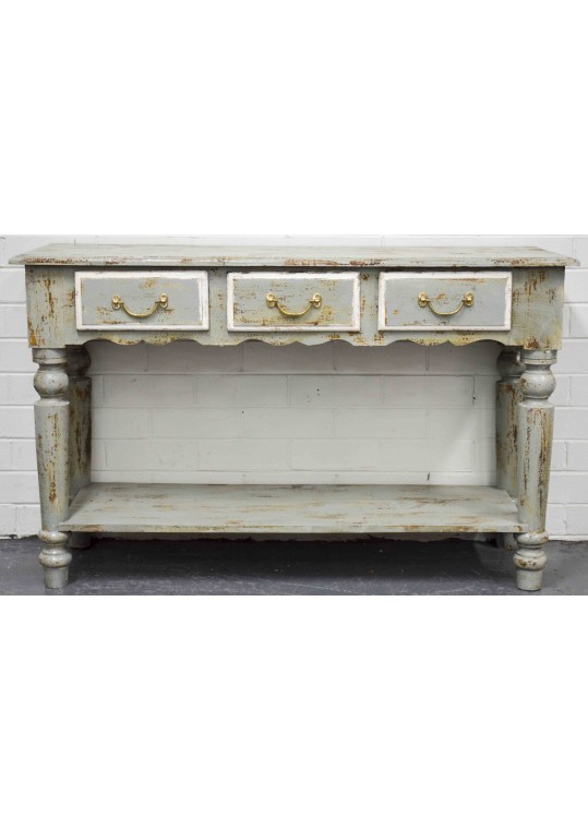 Shabby Chic French Country Console Hall Table