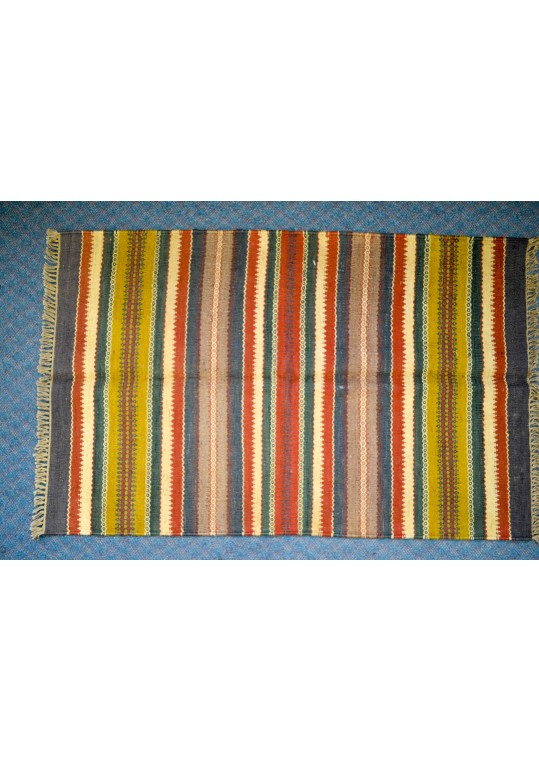 Hand Woven Kilim Flat Tapestry