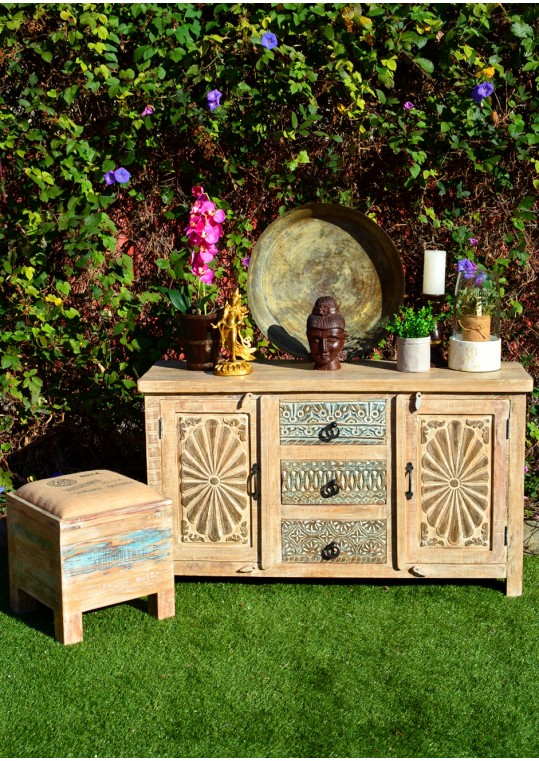 French Country Shabby Chic Buffet Sideboard